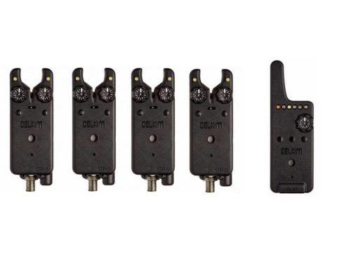 Delkim Txi-D 4+1 Set Digital Bite Alarm Funkbissanzeigerset 3