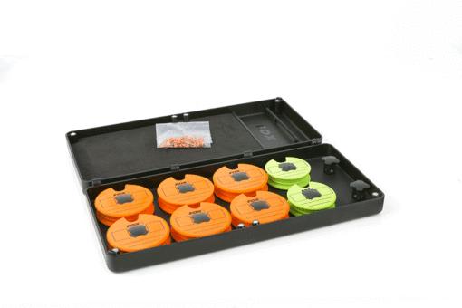 Fox F Box Medium Disc and Rig Box System inc. Pins und Discs 3