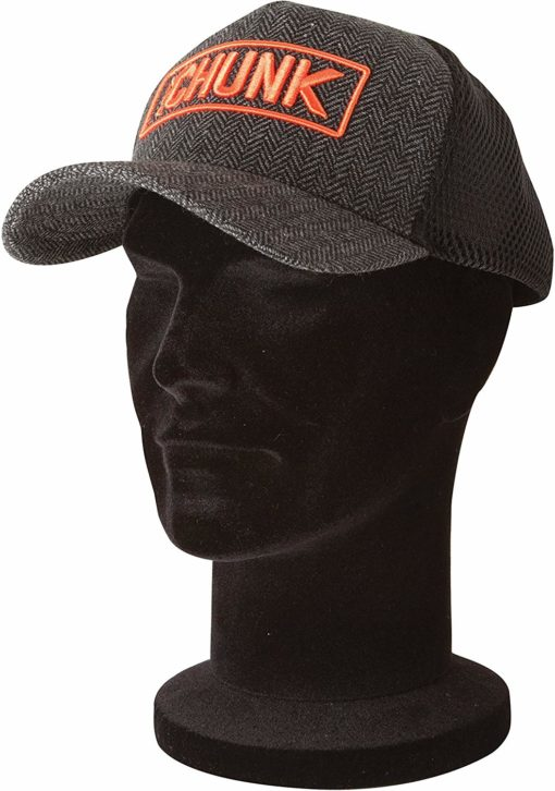 Fox Chunk Twill Trucker Cap Black & Grey Baseballcap 3