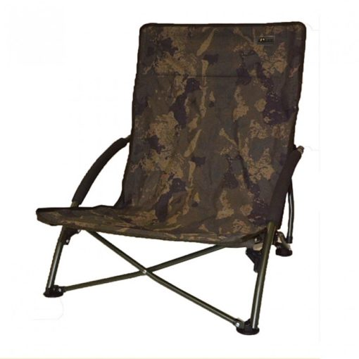 Solar Tackle Undercover Camo Foldable Easy Chair Low 3