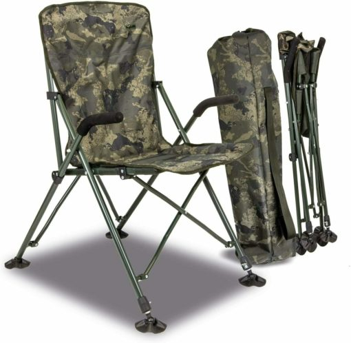 Solar Tackle Undercover Camo Foldable Easy Chair High Angelstuhl 3