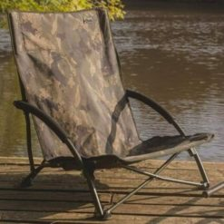 Solar Tackle Undercover Camo Foldable Easy Chair Low 8
