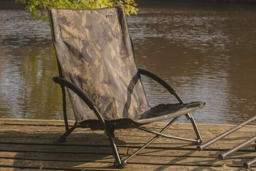 Solar Tackle Undercover Camo Foldable Easy Chair Low 5