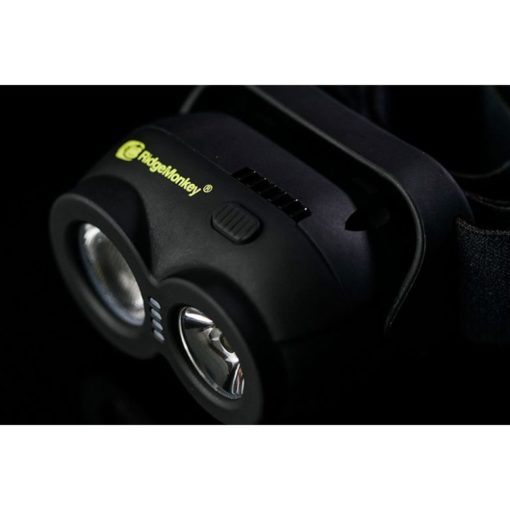 Ridge Monkey VRH150 USB Rechargeable Headtorch Kopflampe 4