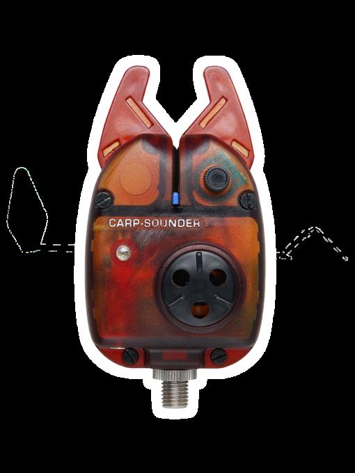 Carp Sounder Neon Red Bissanzeiger 3