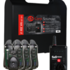 Carp Sounder ROC XRS ACC Neon Black 3+1 Set 1