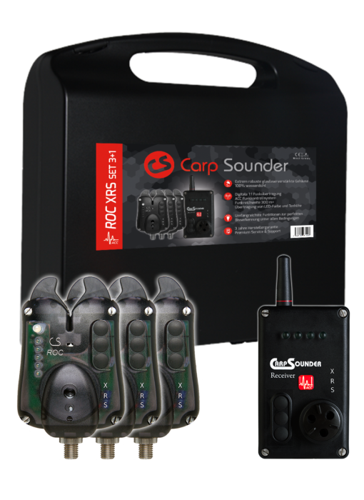 Carp Sounder ROC XRS ACC Neon Black 3+1 Set 3