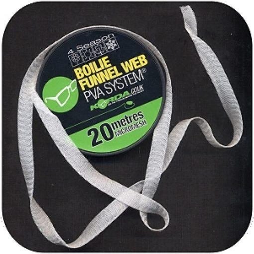 Korda Boilie Funnel Web HEXMESH 20m refill 3