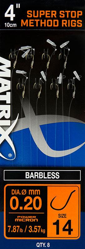 Fox Matrix Super Stop Method Rig Size 14 3