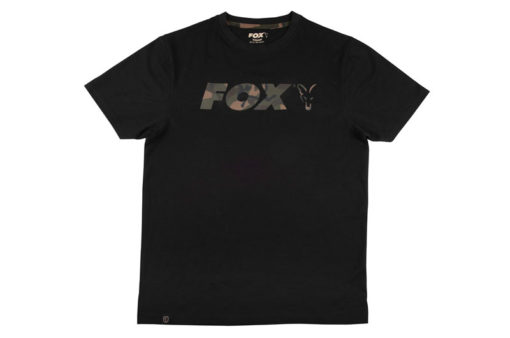 Fox Black/Camo Print T-Shirt 3
