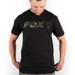 Fox Black/Camo Print T-Shirt 6