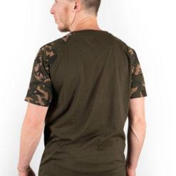 Fox Camo/Khaki Chest Print T-Shirt 7