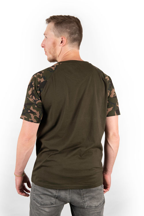 Fox Camo/Khaki Chest Print T-Shirt 5