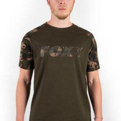 Fox Camo/Khaki Chest Print T-Shirt 6