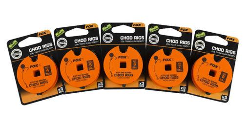 Fox EDGES Armapoint Stiff Rig Beaked Chod Rigs Standard 3