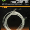 Fox EDGES Fluorocarbon Fused Leader 30lb 2