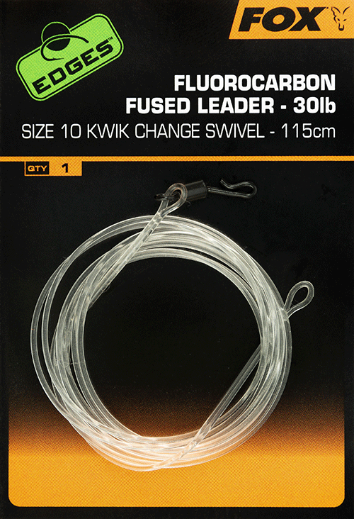 Fox EDGES Fluorocarbon Fused Leader 30lb 3