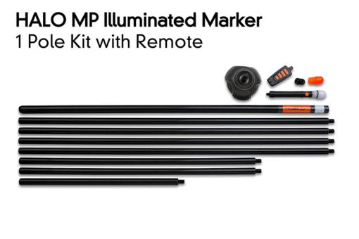Fox Halo 1 Pole Kit inklusive Remote 3