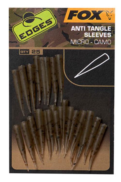 Fox EDGES Camo Anti Tangle Sleeves Micro 3