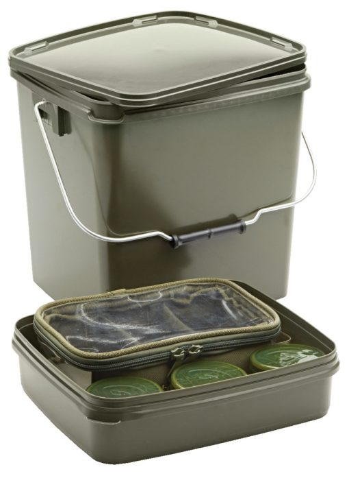 Trakker Olive Square Container 13l inkl. Tray 3