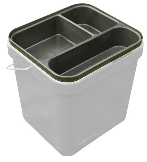 Trakker Olive Square Container 17L Heavy Duty Cuvette 3