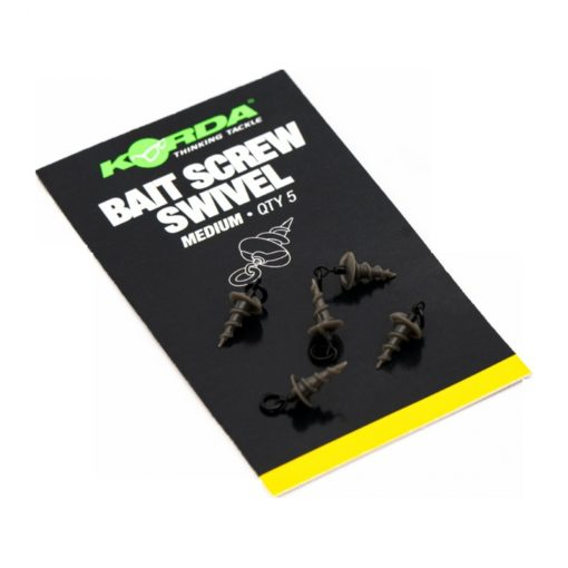 Korda Micro Ring Swivel Bait Screw Medium 3