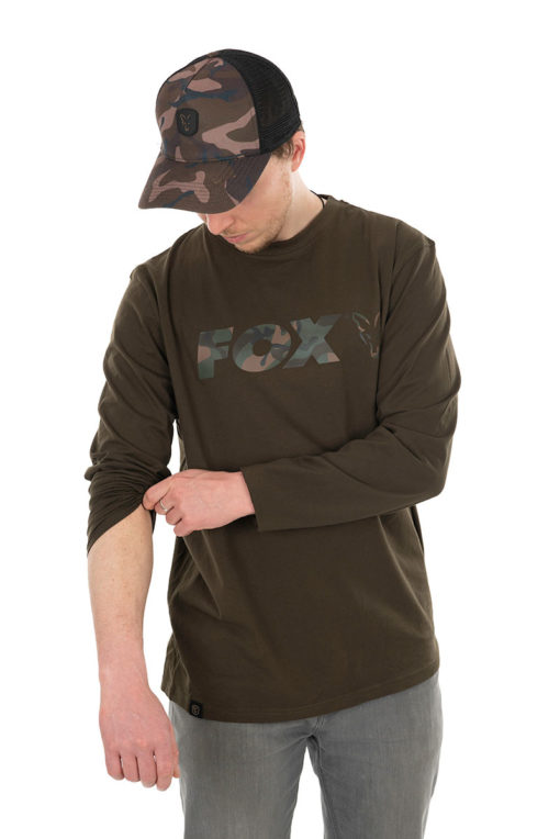 Fox Khaki/Camo Long Sleeve 3