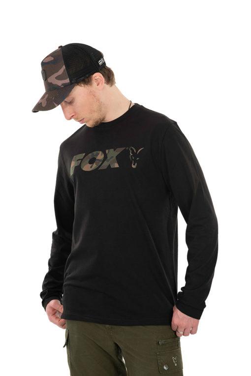Fox Black/Camo Long Sleeve 3