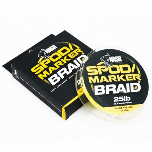 Nash Spod and Marker Braid Hi-Viz Yellow 25lb 0,18mm 300m 2