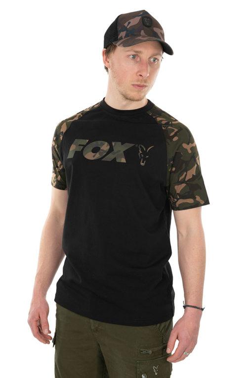 Fox Black/Camo Raglan T-Shirt 3