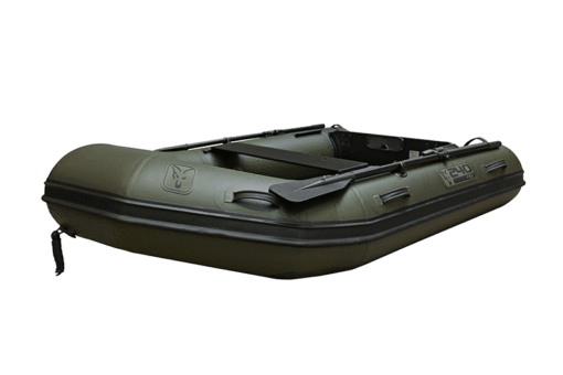 Fox 240 Inflatable Boat Green with Air Deck 3