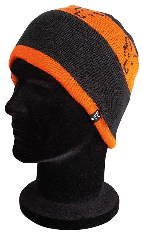 Fox Black Orange Beanie 3