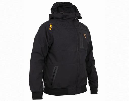 Fox Collection Black/Orange Shell Hoody 3