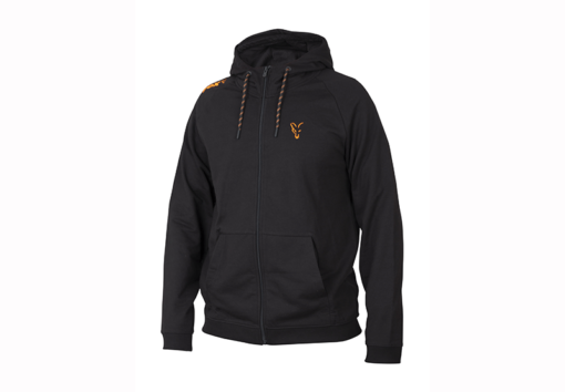 Fox Collection Black Orange Lightweight Hoody 3
