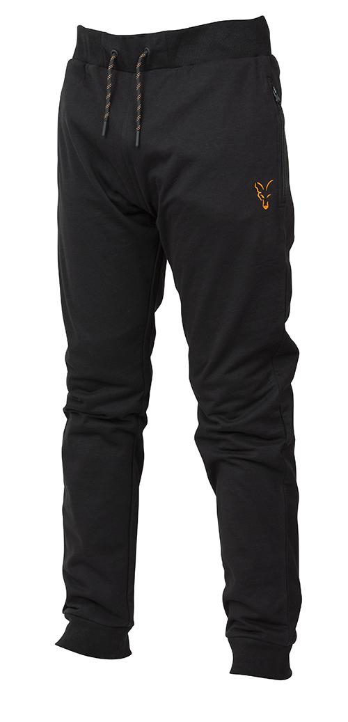 Fox Collection Black Orange Lightweight Joggers 3