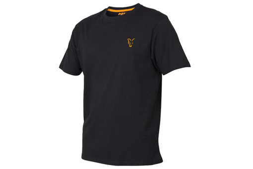 Fox Collection Black Orange T-Shirt 3
