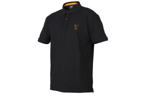 Fox Collection Black Orange Polo Shirt 3