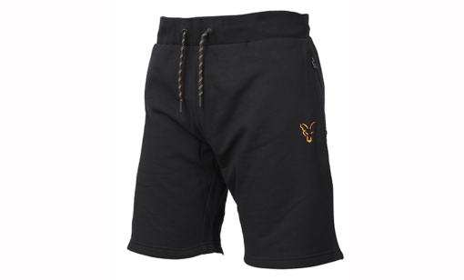 Fox Collection Black Orange Lightweight Jogger Shorts 3
