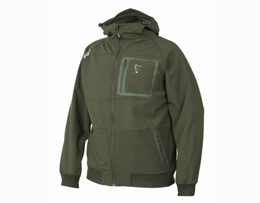 Fox Collection Green Silver Shell Hoody 3
