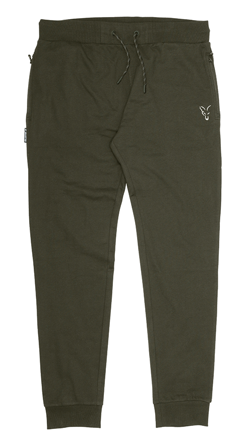 Fox Collection Green Silver Lightweight Joggers 3