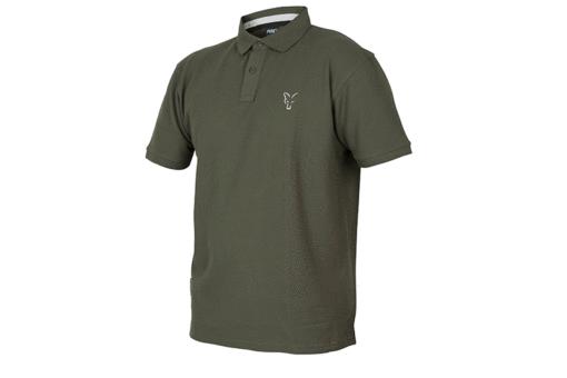 Fox Collection Green Silver Polo Shirt 3
