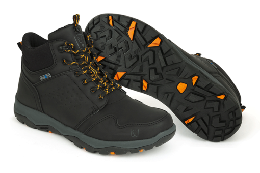 Fox Collection Black/Orange Mid Boots Anglerschuhe 3