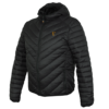 Fox Collection Black/Orange Quilted Jacket 2