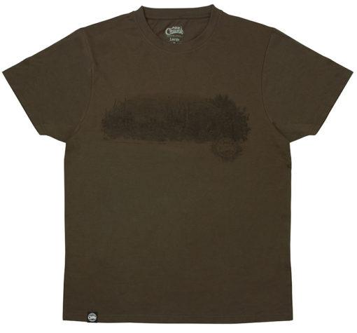 Fox Chunk Dark Khaki Scenic T-Shirt 3
