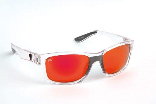 Fox Rage Matt Trans/Mirror Red Lens Sunglasses 3