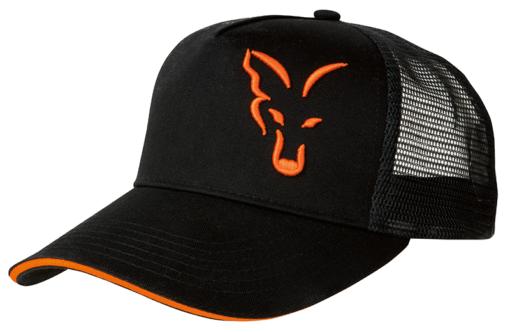 Fox Black Orange Trucker Cap 3