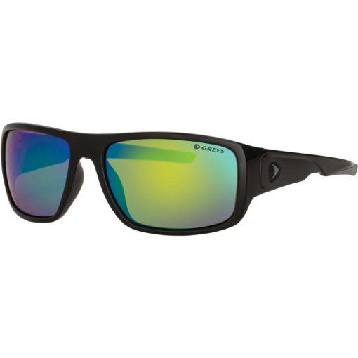 Greys G2 Sunglasses Gloss Black Fade/Green Mirrror Sonnenbrille Polbrille 3