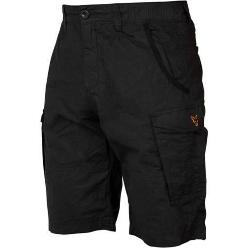 Fox Collection Black Orange Combat Shorts 3
