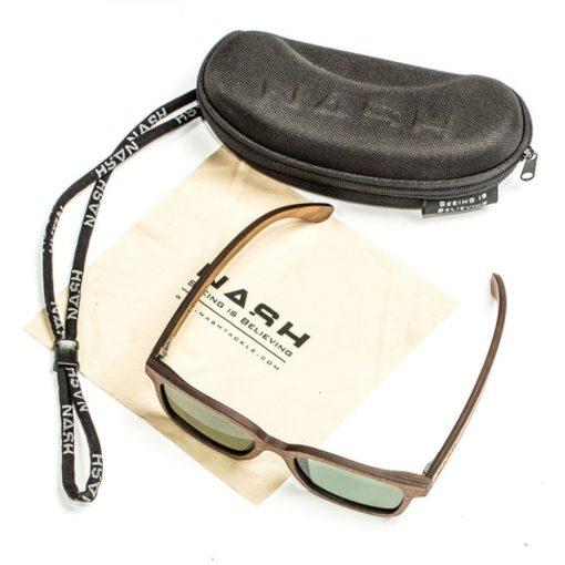 Nash Timber Green Glasses 2