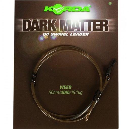Korda Dark Matter Leader QC Swivel 50cm 3